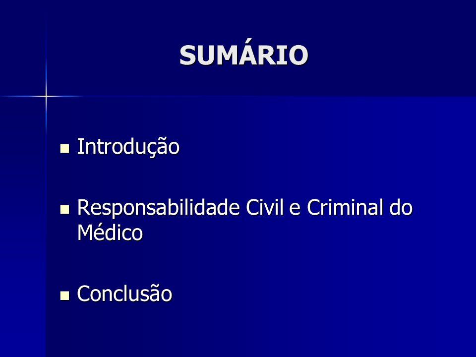 Responsabilidade civil e criminal do médico A prática médica prevenindo riscos e ações judiciais A prática médica prevenindo riscos e ações judiciais A visão do advogado A visão do advogado
