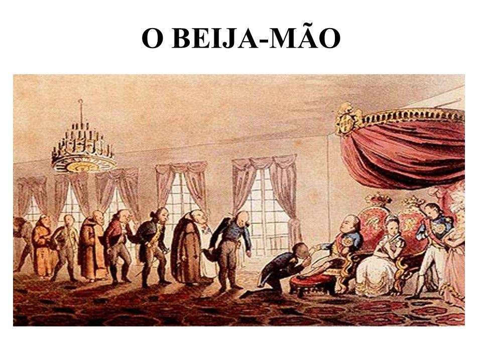 O BEIJA-MÃO