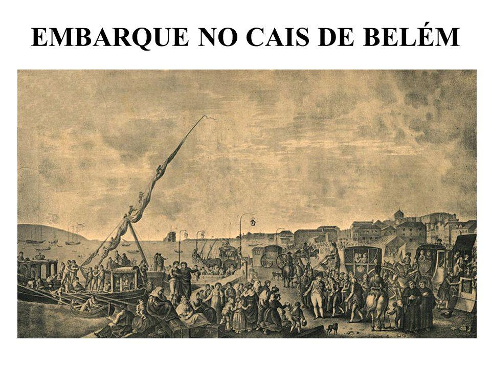 EMBARQUE NO CAIS DE BELÉM