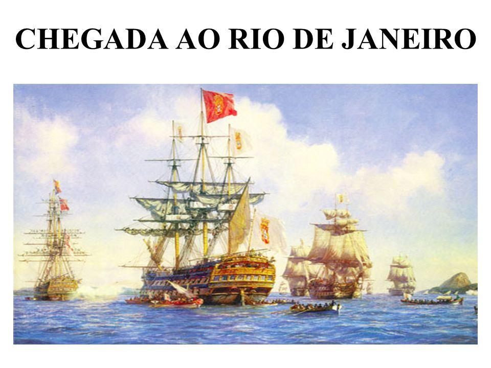 CHEGADA AO RIO DE JANEIRO