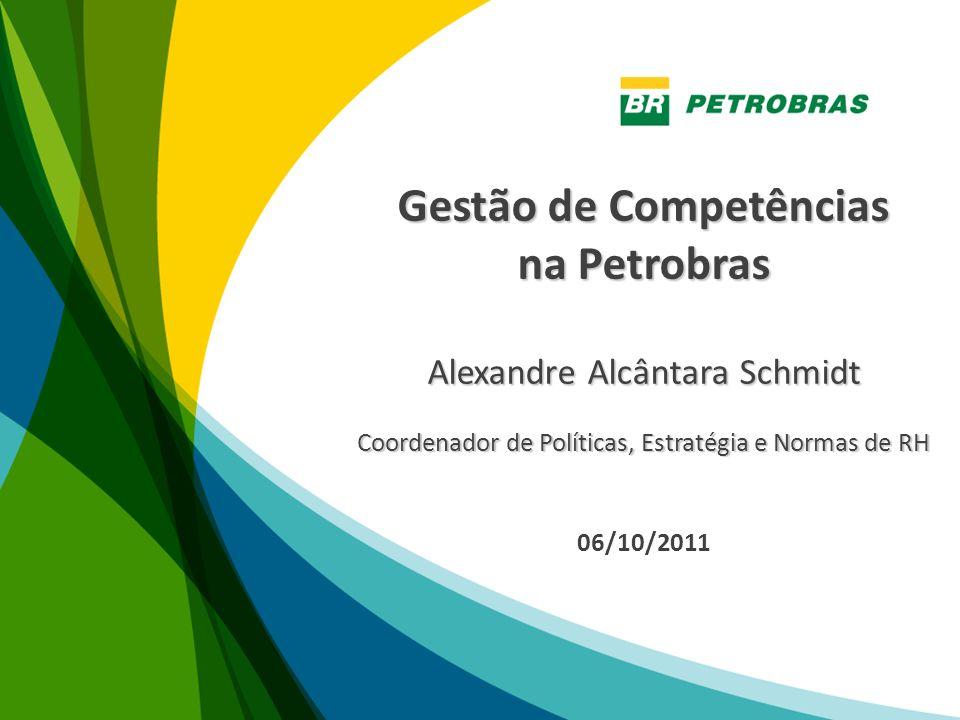 Alexandre Alcântara Schmidt Petrobras Recursos Humanos Planejamento e Avaliação de RH alexandreschmidt@petrobras.com.br
