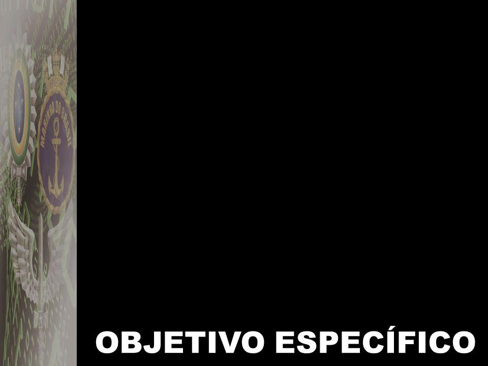 OBJETIVO ESPECÍFICO
