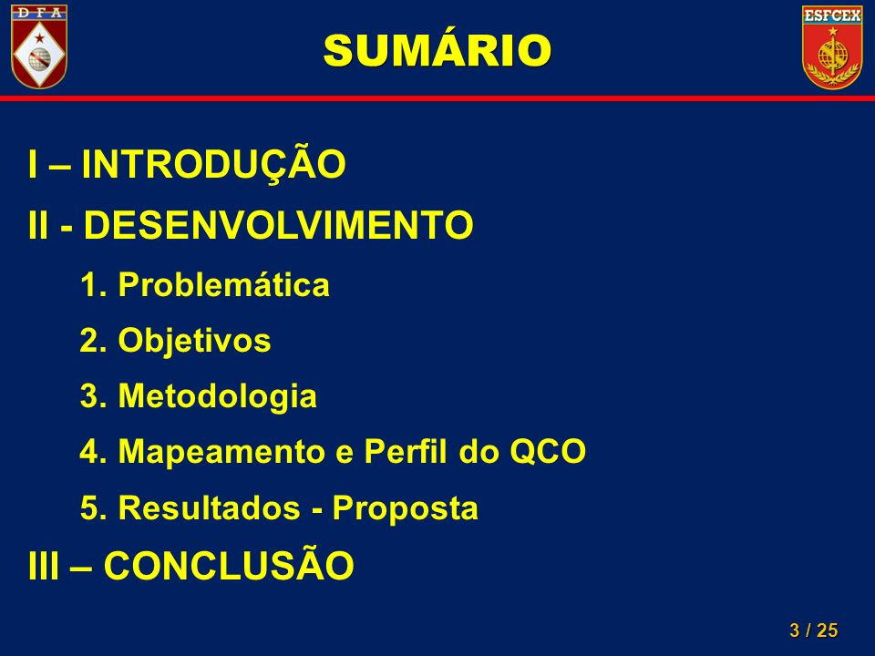 14 / 25 MAPEAMENTO EVASÃO DE OFICIAIS DAFORÇA