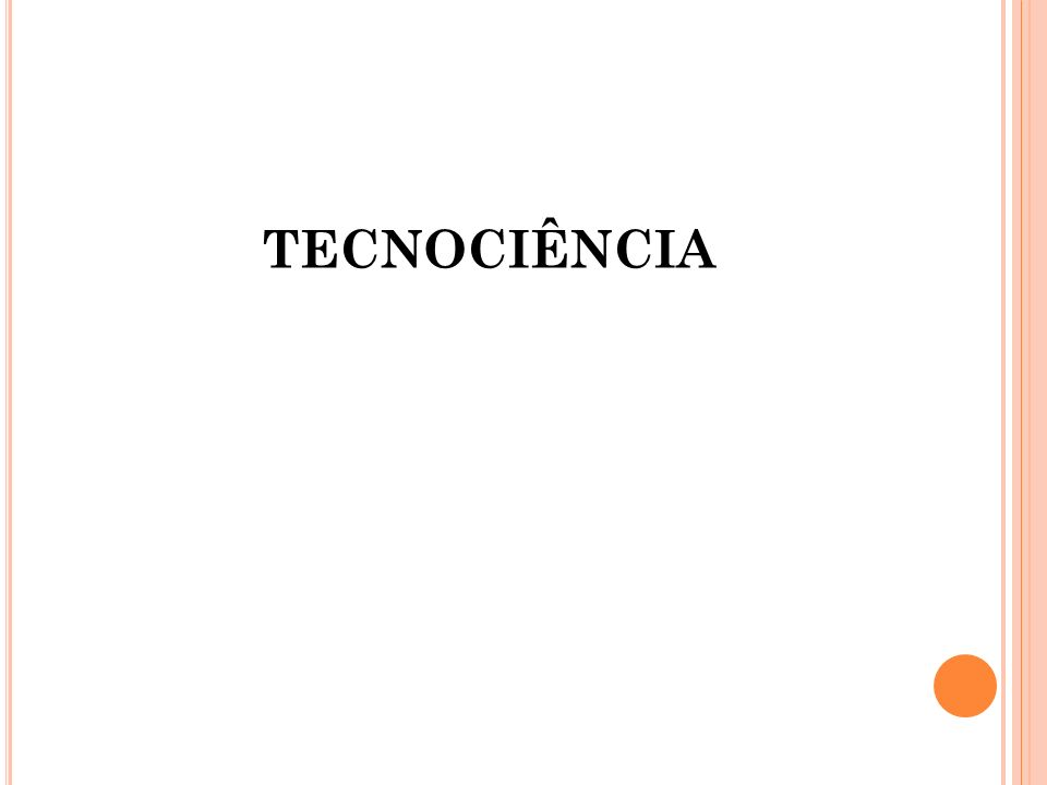 TECNOCIÊNCIA