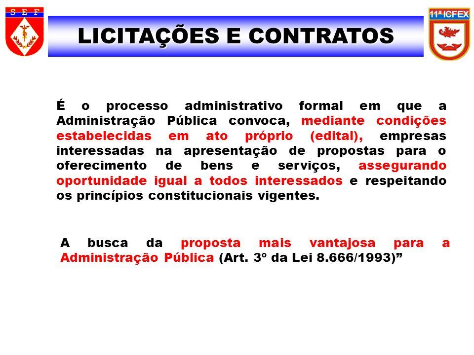 SIAFI SIAFI LICITAÇÕES E CONTRATOS 29 É o processo administrativo formal em que a Administração Pública convoca, mediante condições estabelecidas em a