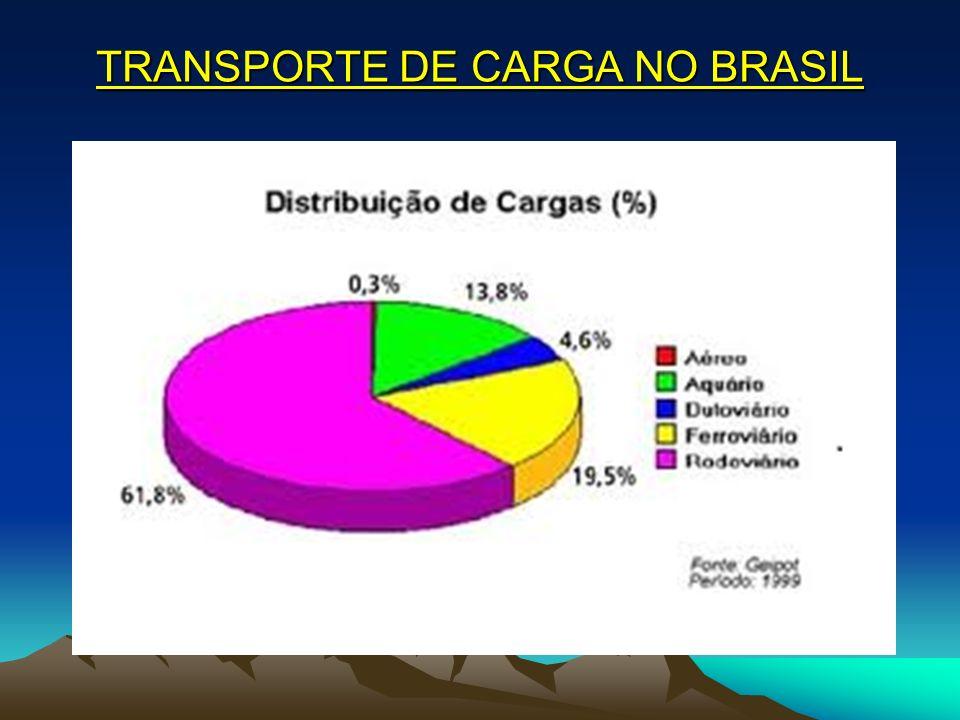 TRANSPORTE DE CARGA NO BRASIL