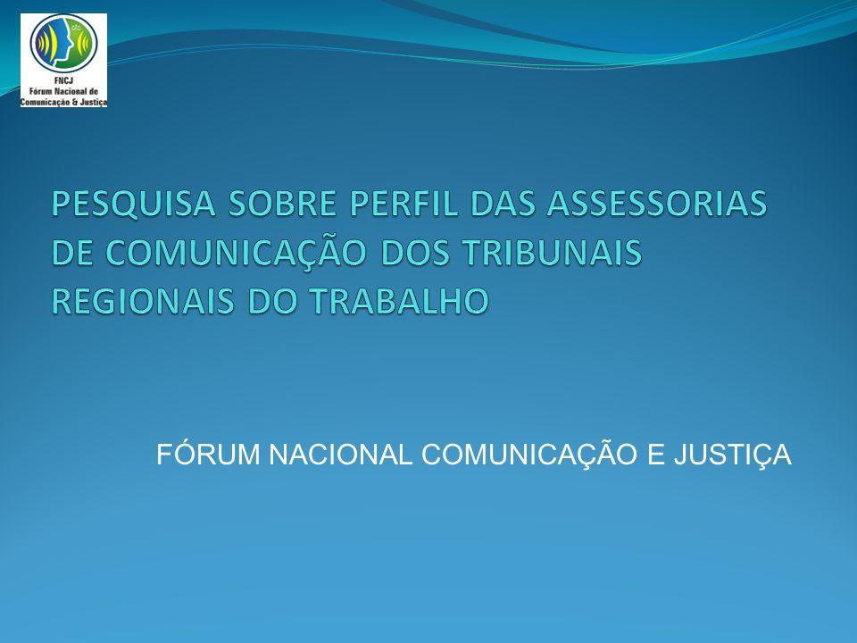 FÓRUM NACIONAL COMUNICAÇÃO E JUSTIÇA