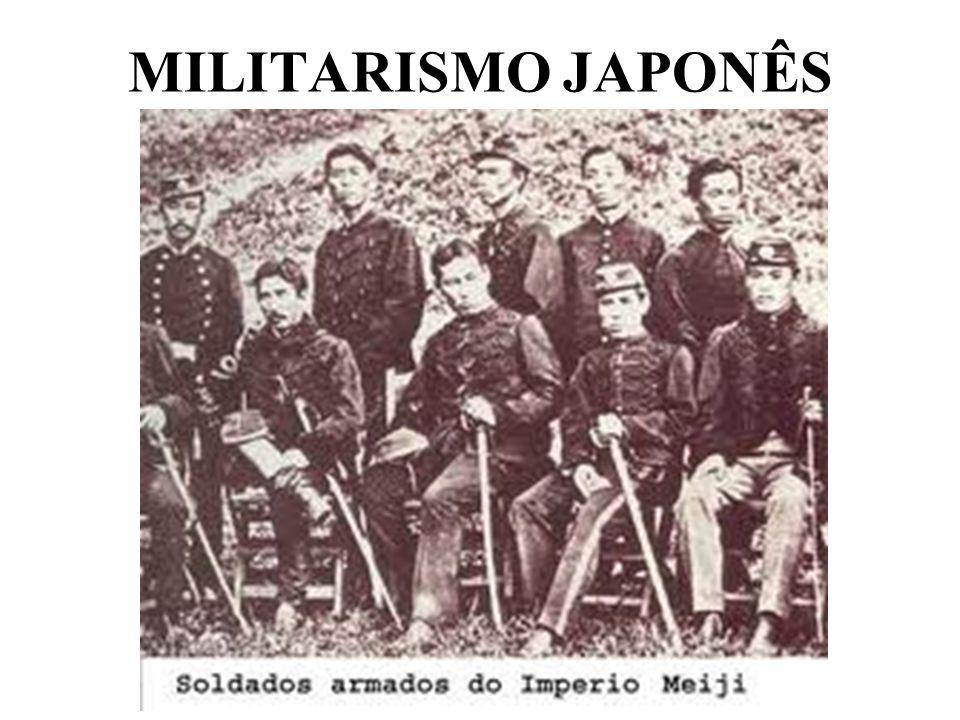 MILITARISMO JAPONÊS