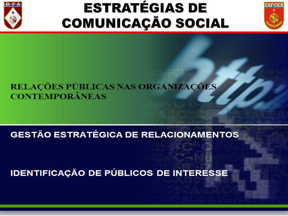 18 / ?? ESTRATÉGIAS DE COMUNICAÇÃO SOCIAL