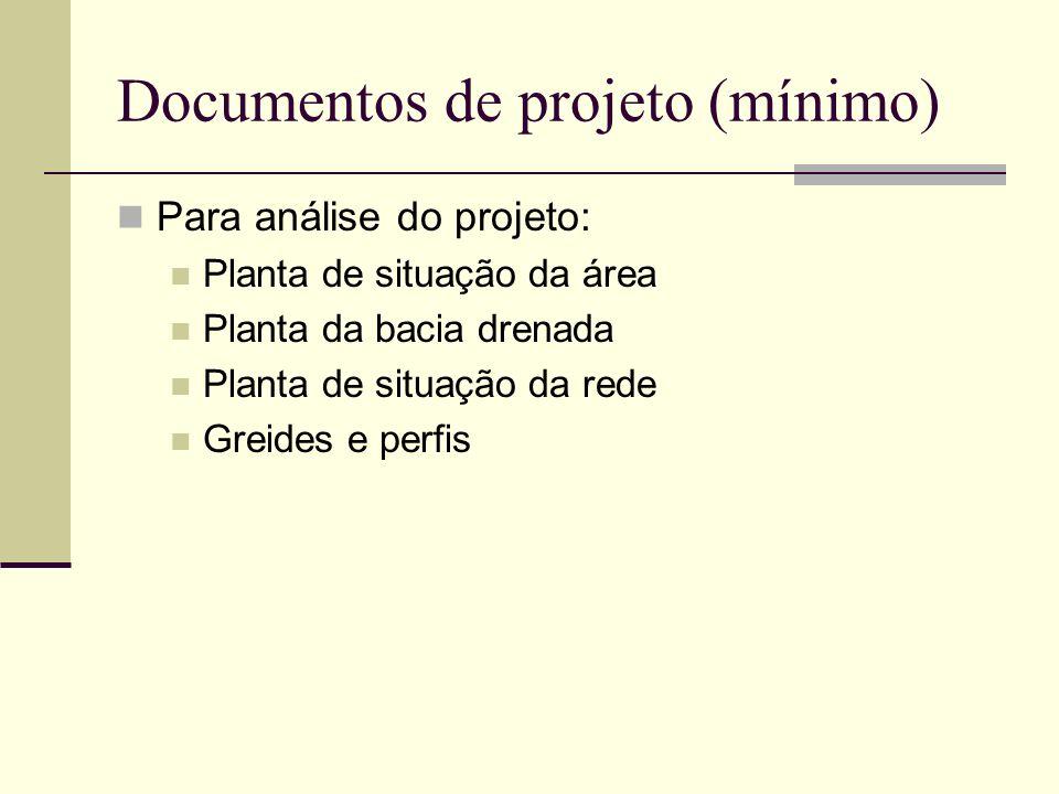 ESQUEMA GERAL DE PROJETO Traçado da rede pluvial: lançada em planta baixa, seguindo características da hidrografia local.