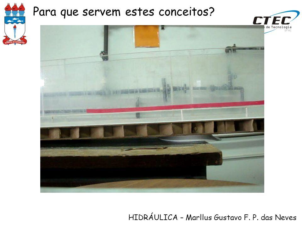 HIDRÁULICA – Marllus Gustavo F. P. das Neves Controles de montante e de jusante