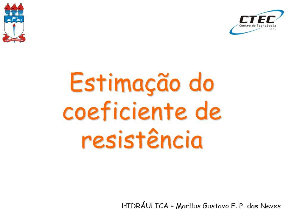 HIDRÁULICA – Marllus Gustavo F. P. das Neves Aspectos teóricos e práticos