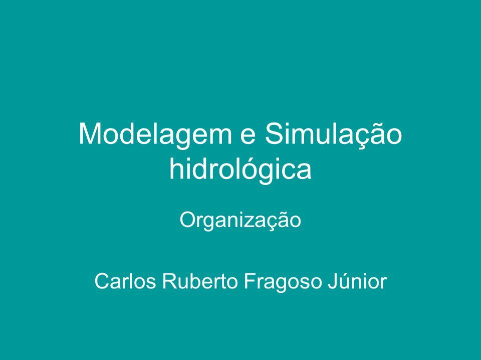 Modelagem e Simulação hidrológica Organização Carlos Ruberto Fragoso Júnior