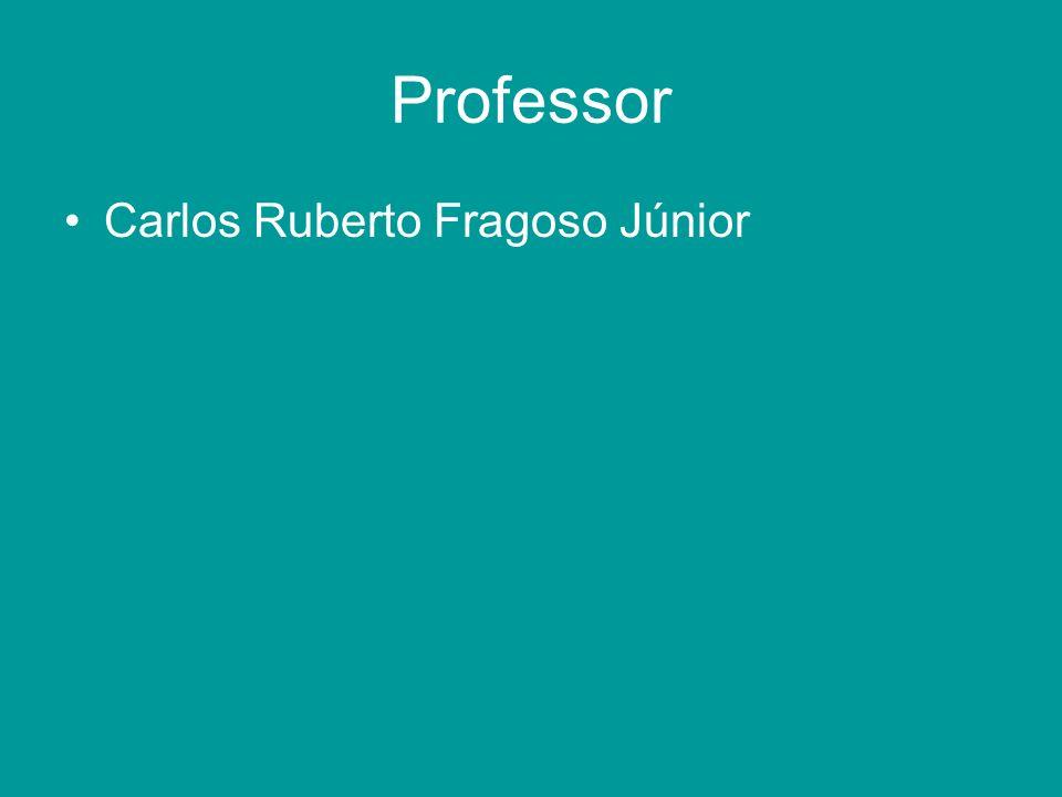 Professor Carlos Ruberto Fragoso Júnior