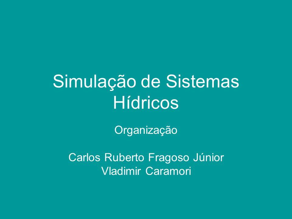 Simulação de Sistemas Hídricos Organização Carlos Ruberto Fragoso Júnior Vladimir Caramori
