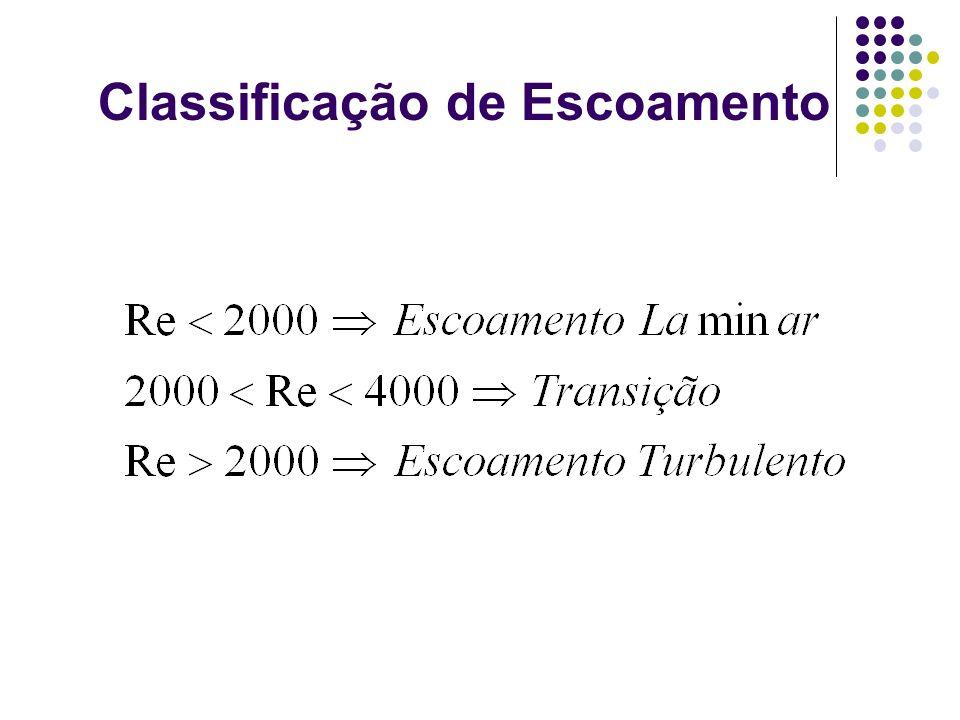 Classificação de Escoamento