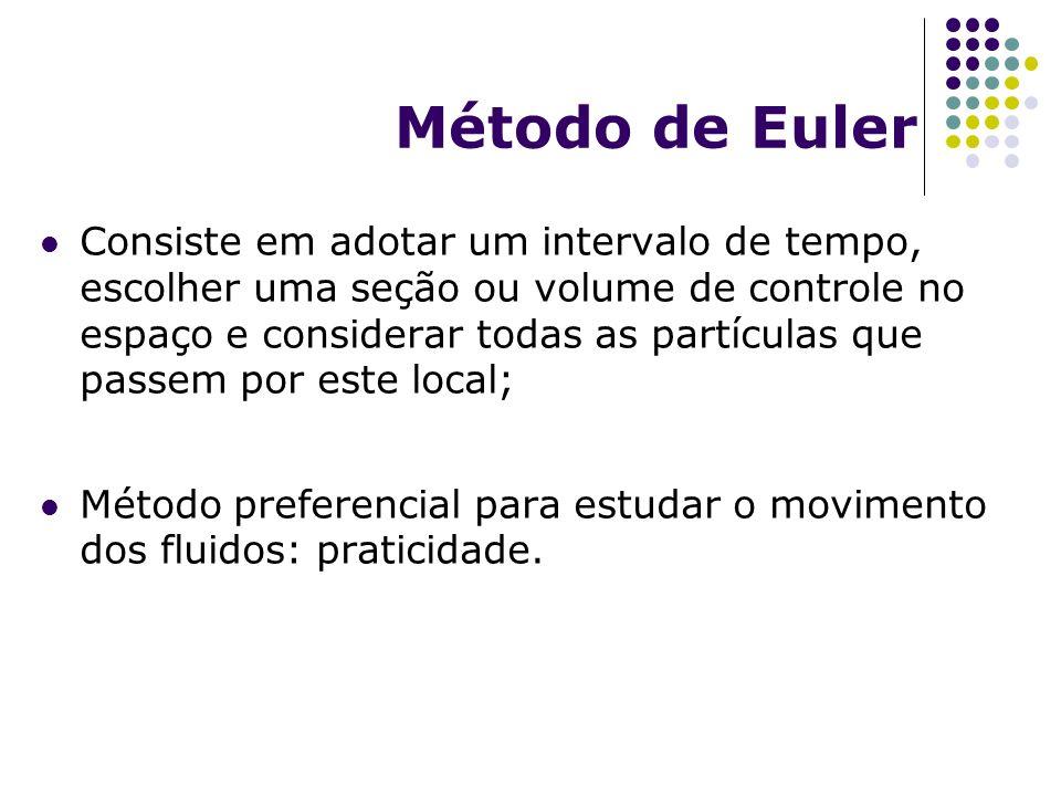 Campo de velocidade: Euleriano vs.
