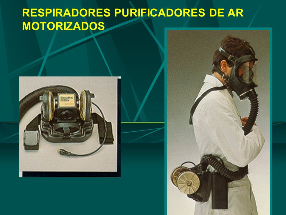 25 RESPIRADORES PURIFICADORES DE AR MOTORIZADOS