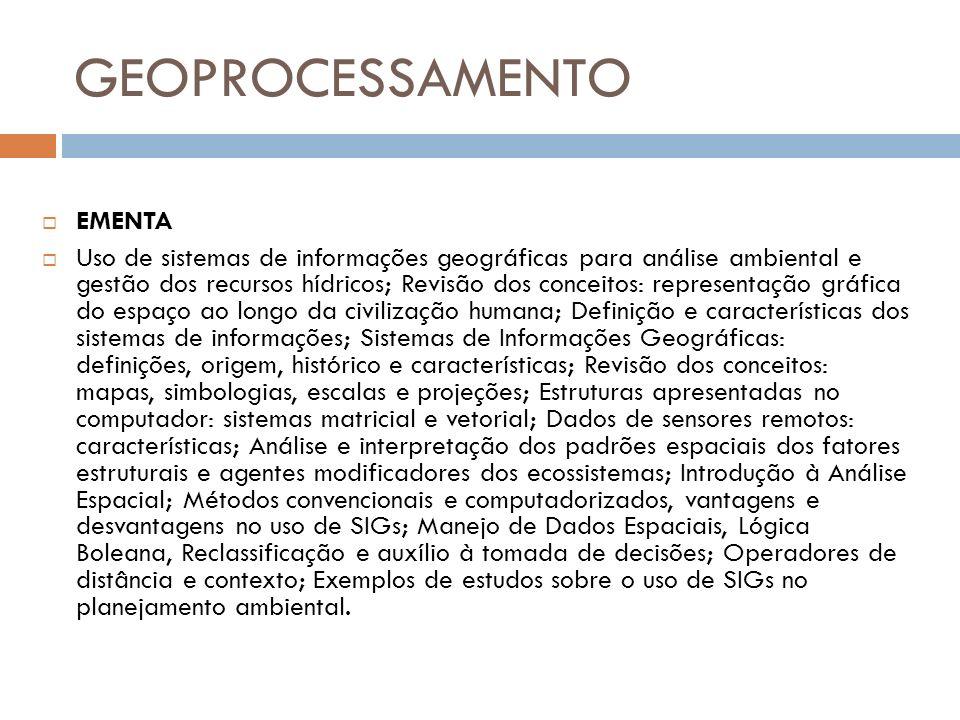 Geotecnologias Fonte: Adaptado de Profº Fábio Marcelo Breunig AnáliseIntegraçãoAquisiçãoVisualização SIGDetecção remota GPS Desktop MappingWWWCAD