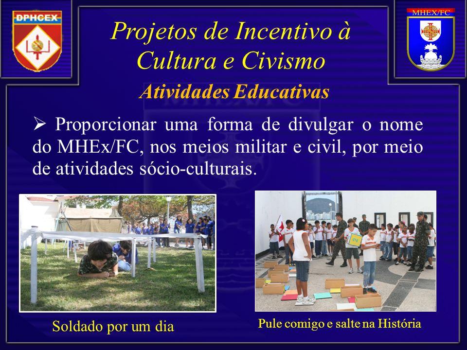 Proporcionar um evento de difusão cultural e de entretenimento aos visitantes.