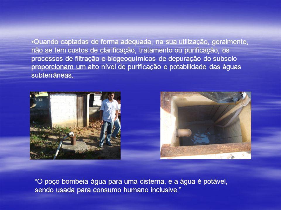 A Exploração indiscriminada de poços de águas subterrâneas está elevando o nível da salinidade do lençol freático de Maceió ( O JORNAL, 2004).
