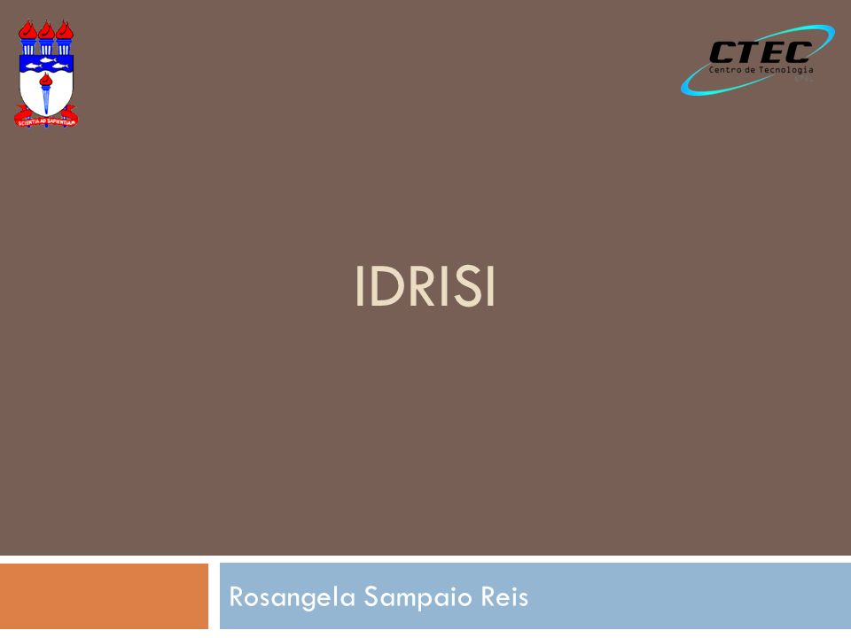 Idrisi GeoTIFF/TIFF Mosaic Reclass Overlay Image Calculator