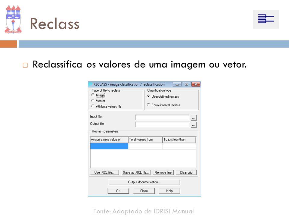 Reclass