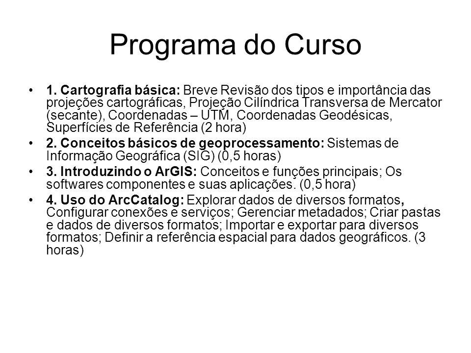 Programa do Curso 5.