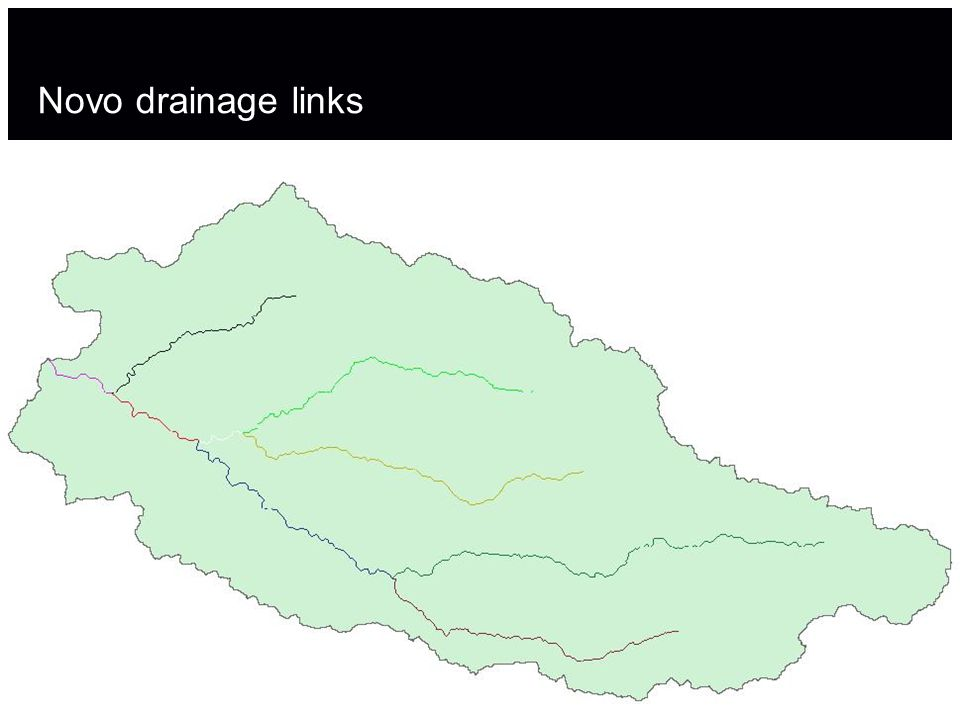 Novo drainage links