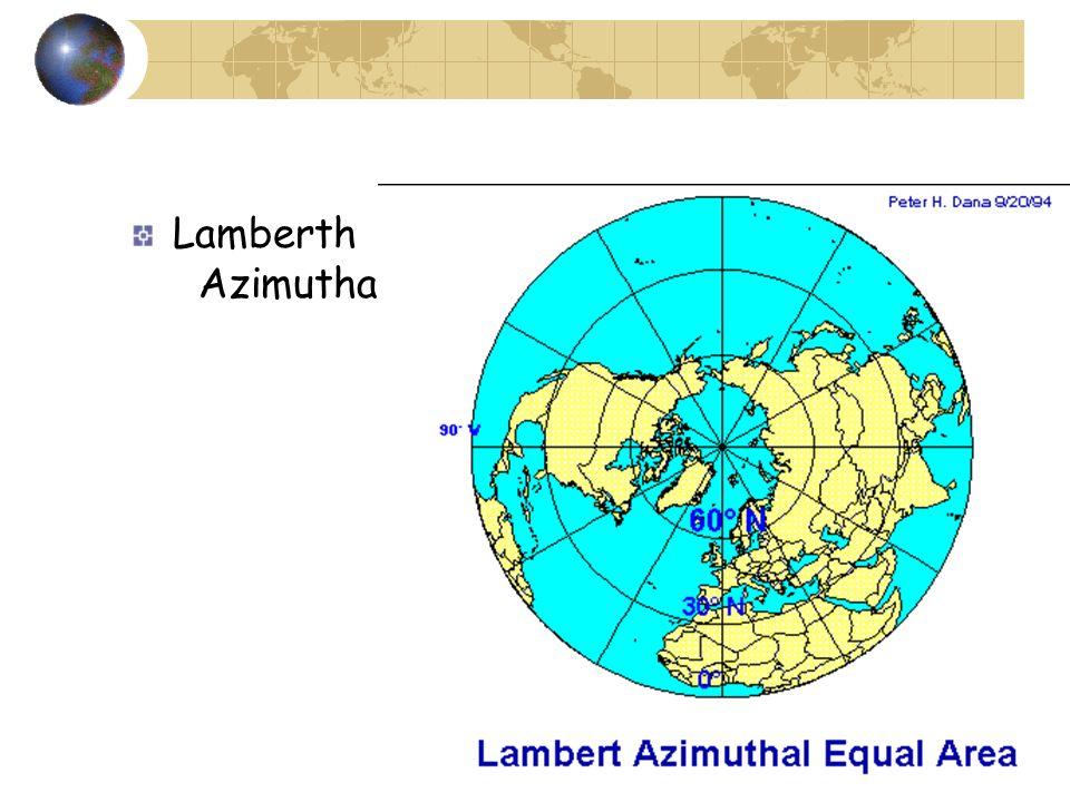 Lamberth Azimuthal