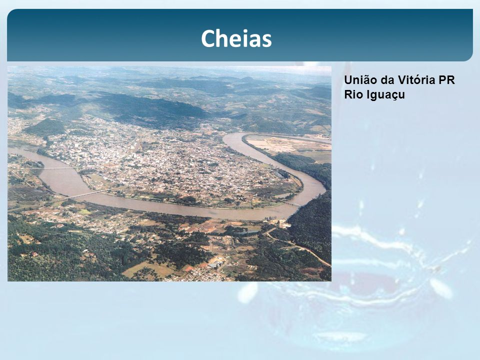 União da Vitória PR Rio Iguaçu Cheias