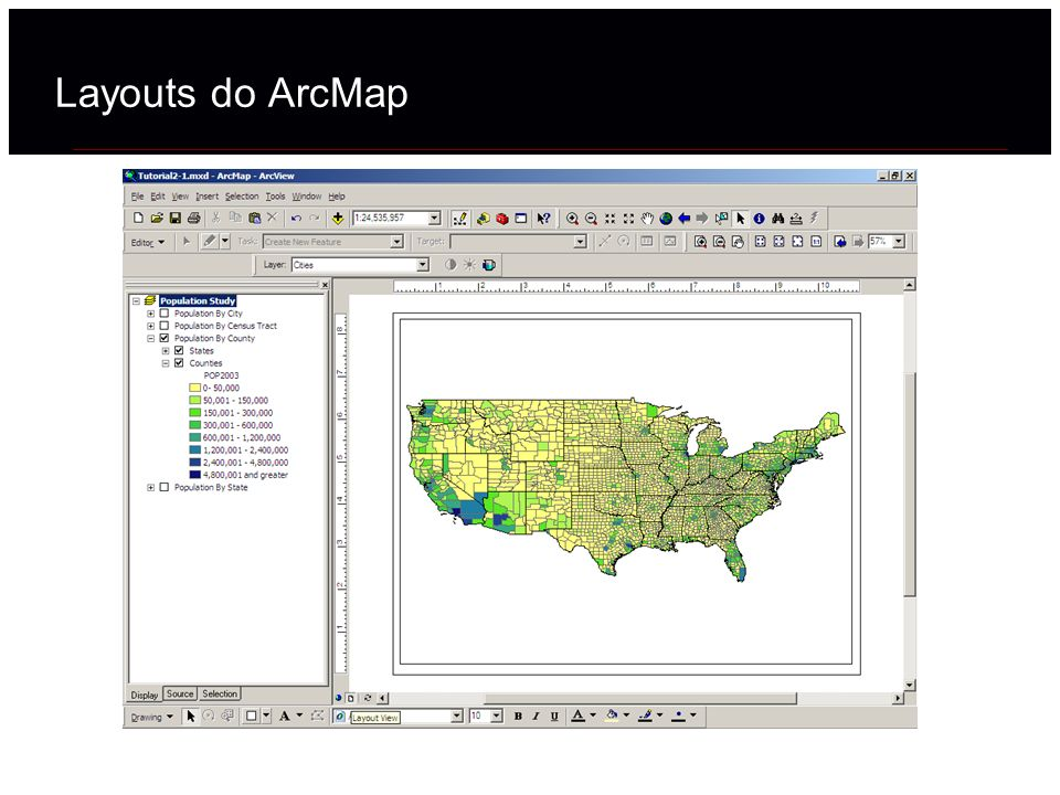 Layouts do ArcMap