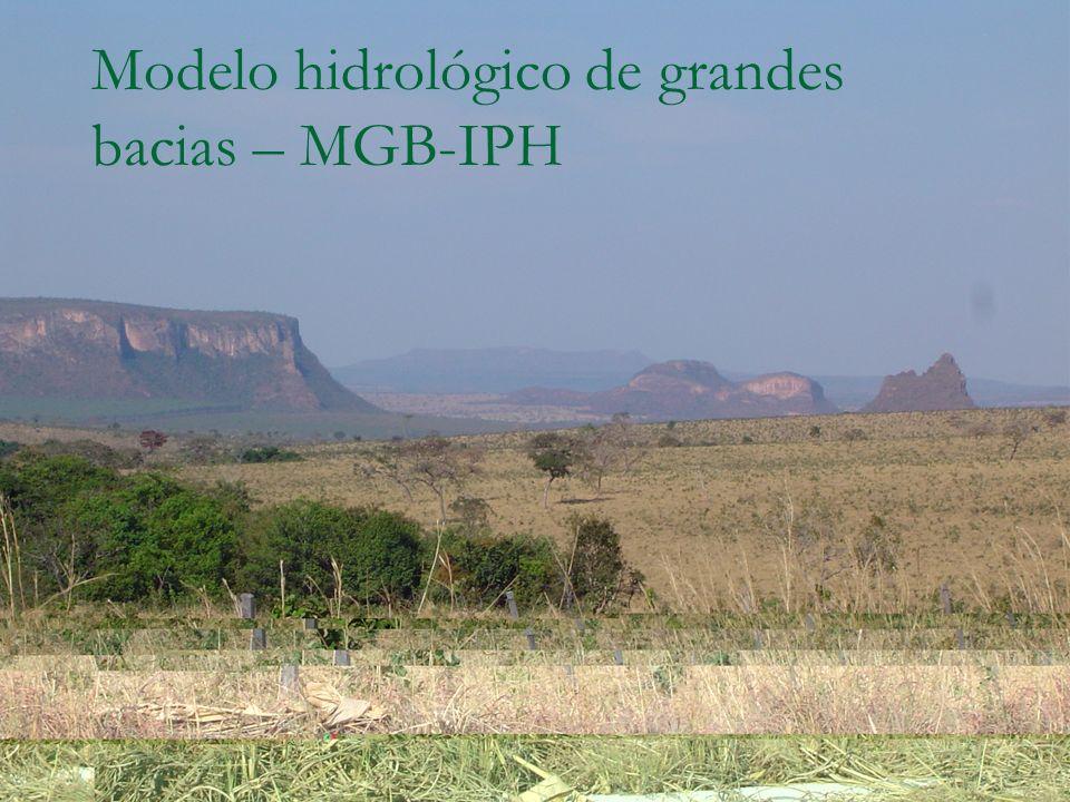 Modelo hidrológico de grandes bacias – MGB-IPH