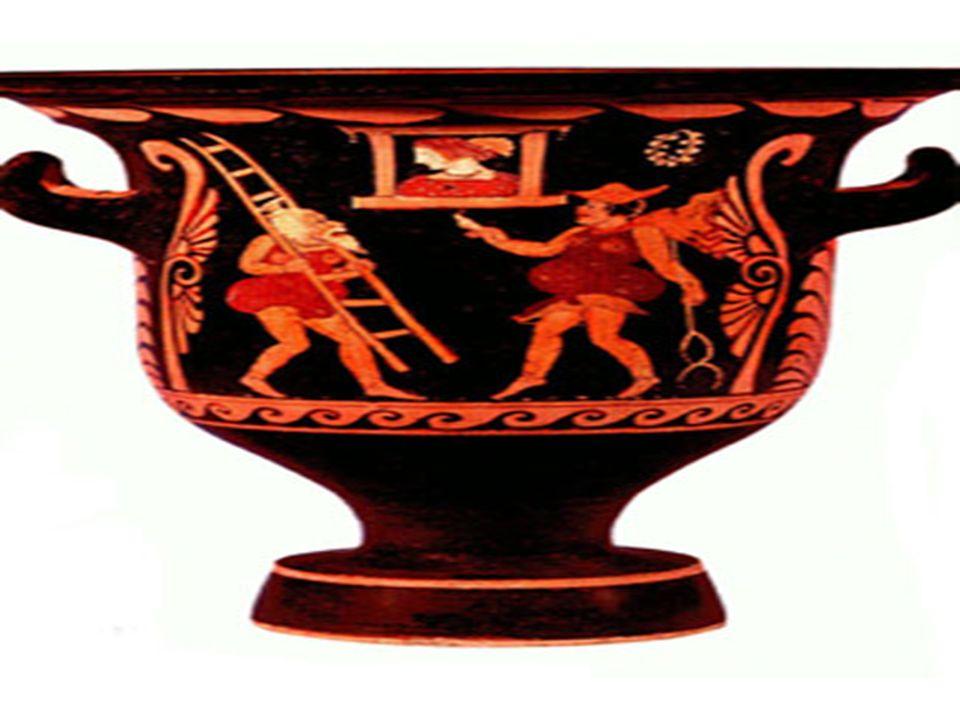 Vaso grego – Alberto de Oliveira Esta de áureos relevos, trabalhada De divas mãos, brilhante copa, um dia, Já de aos deuses servir como cansada, Vinda do Olimpo, a um novo deus servia.