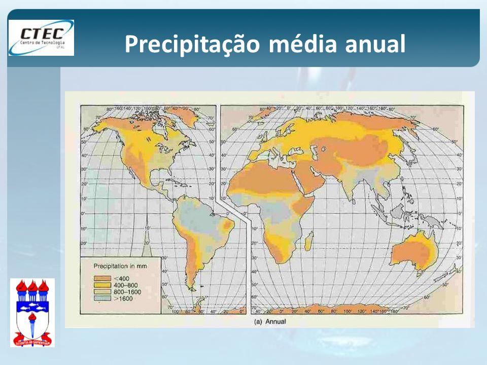 Precipitação média anual
