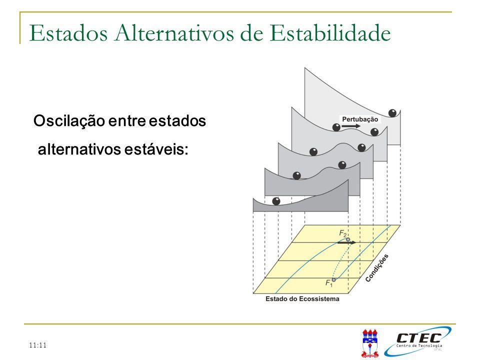 11:11 Oscilação entre estados alternativos estáveis: Estados Alternativos de Estabilidade