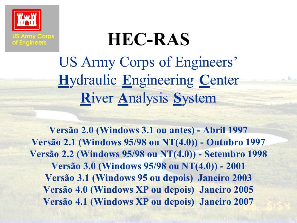 HEC-RAS Version 4.1 Introdução Carlos Ruberto Fragoso Jr.