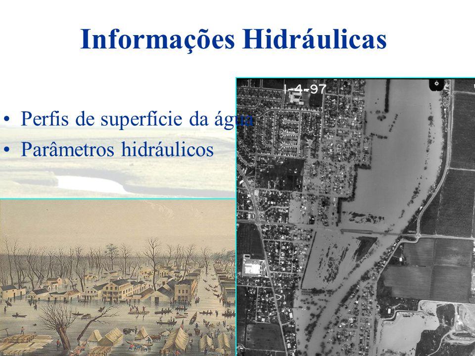 HEC-RAS é um software que permite o usuário estimar escoamentos unidimensionais em regime permanente e não permanente página: www.hec.usace.army.mil