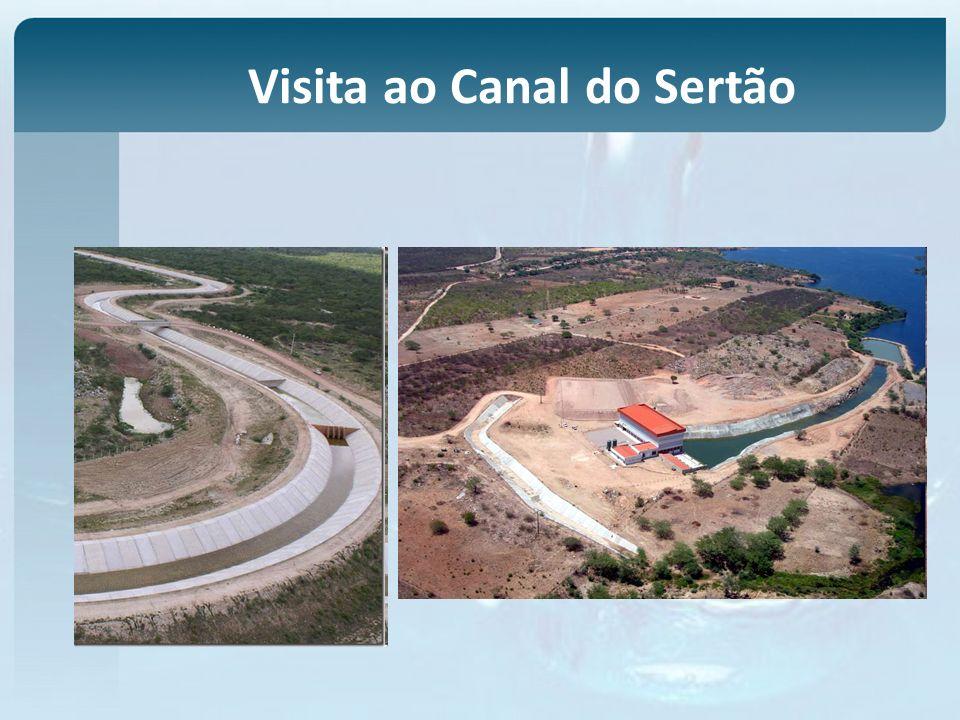 Visita ao Canal do Sertão
