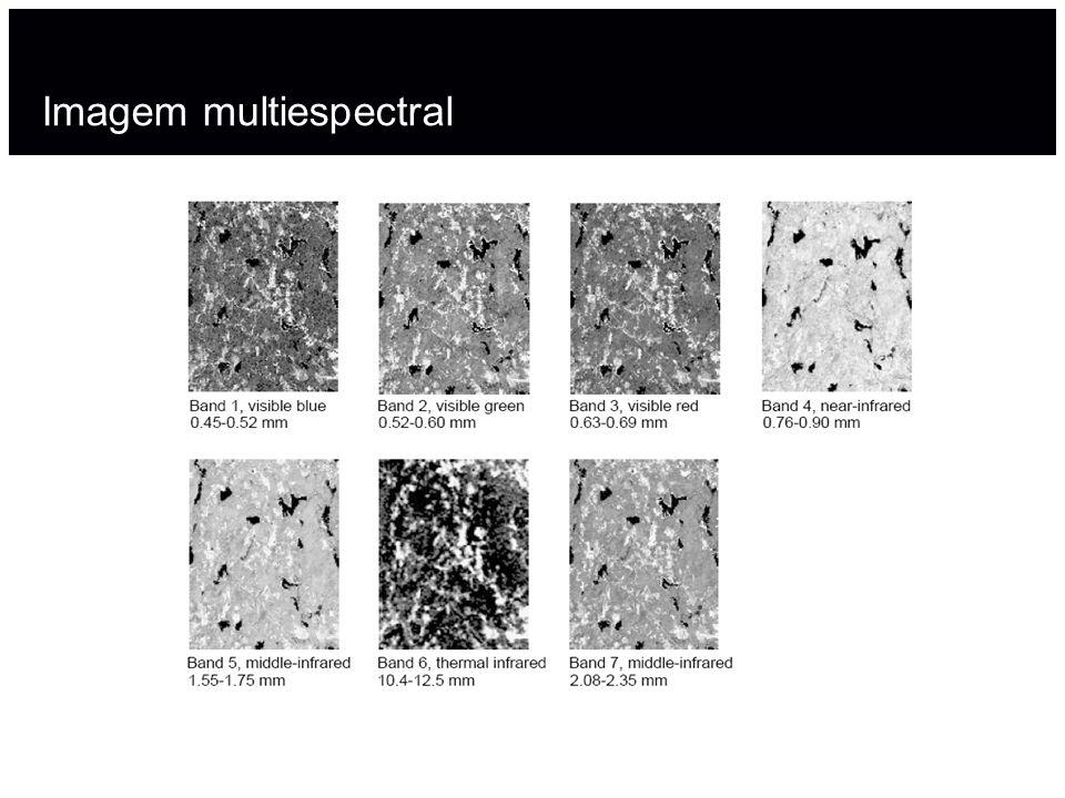 Imagem multiespectral