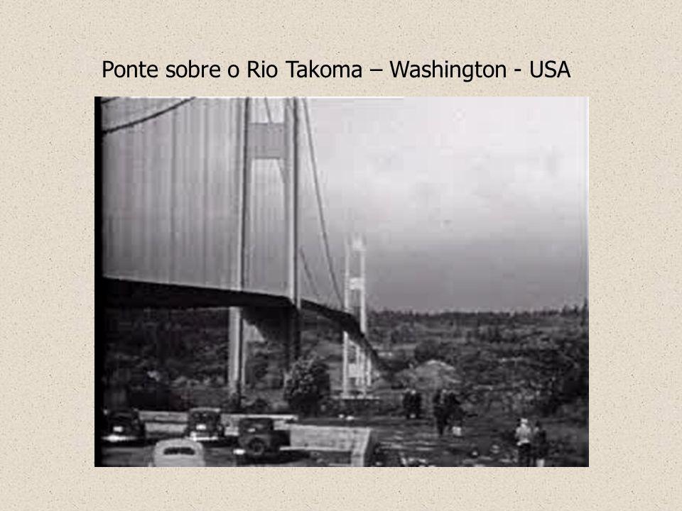 Ponte sobre o Rio Takoma – Washington - USA