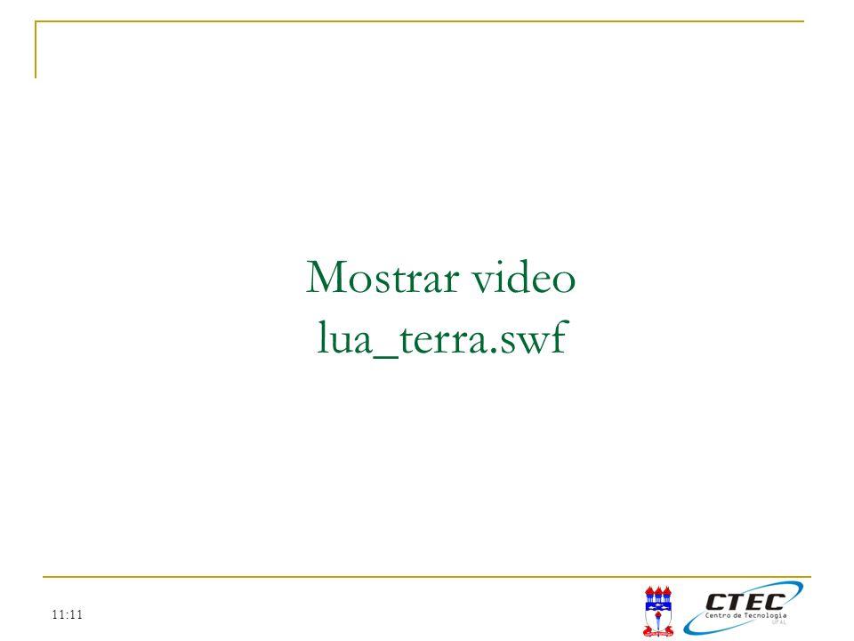 Mostrar video lua_terra.swf