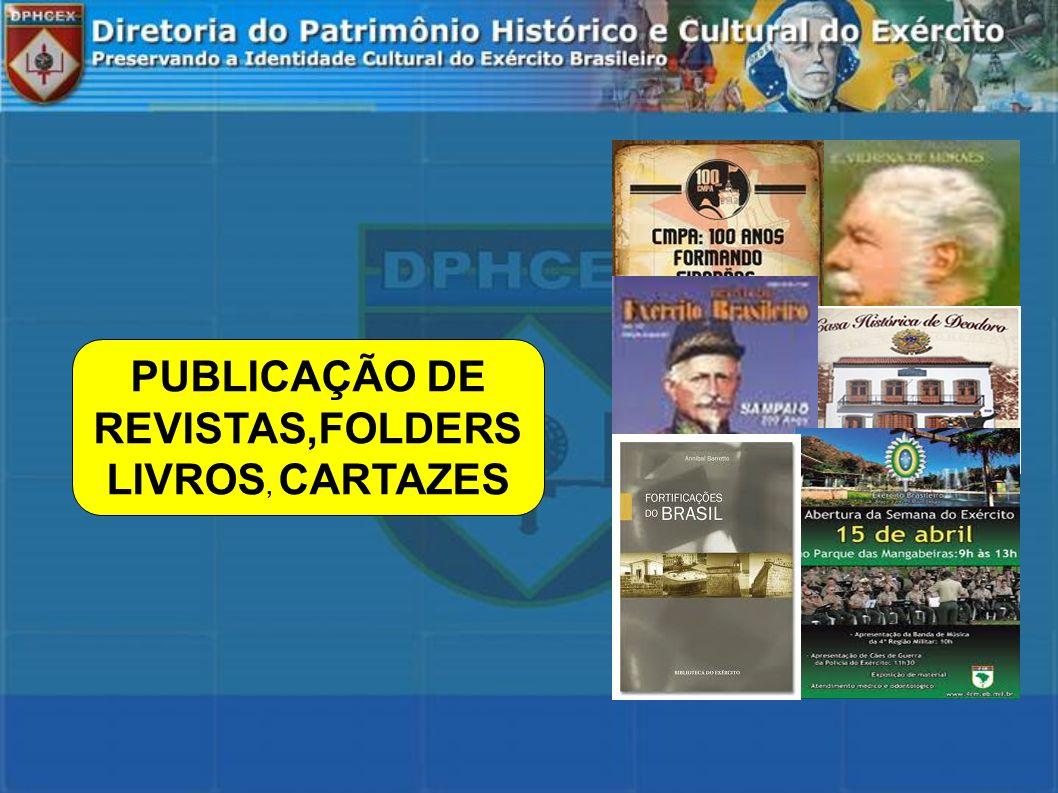 PUBLICAÇÃO DE REVISTAS,FOLDERS LIVROS, CARTAZES