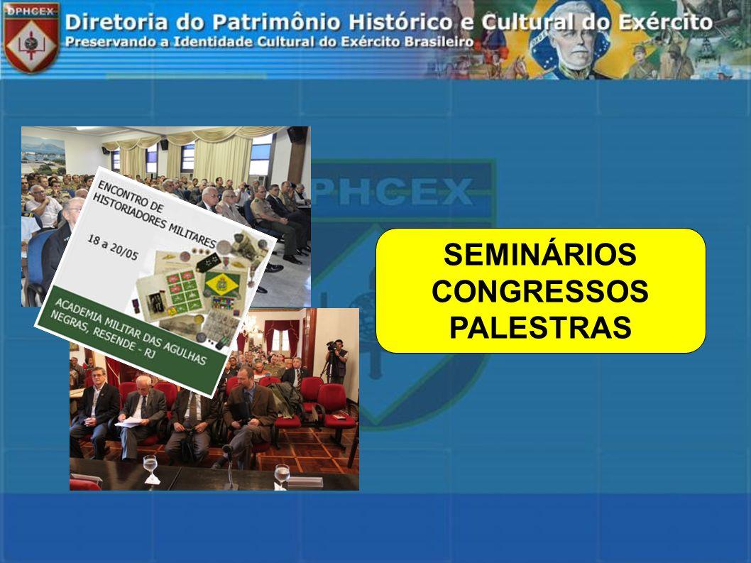 SEMINÁRIOS CONGRESSOS PALESTRAS