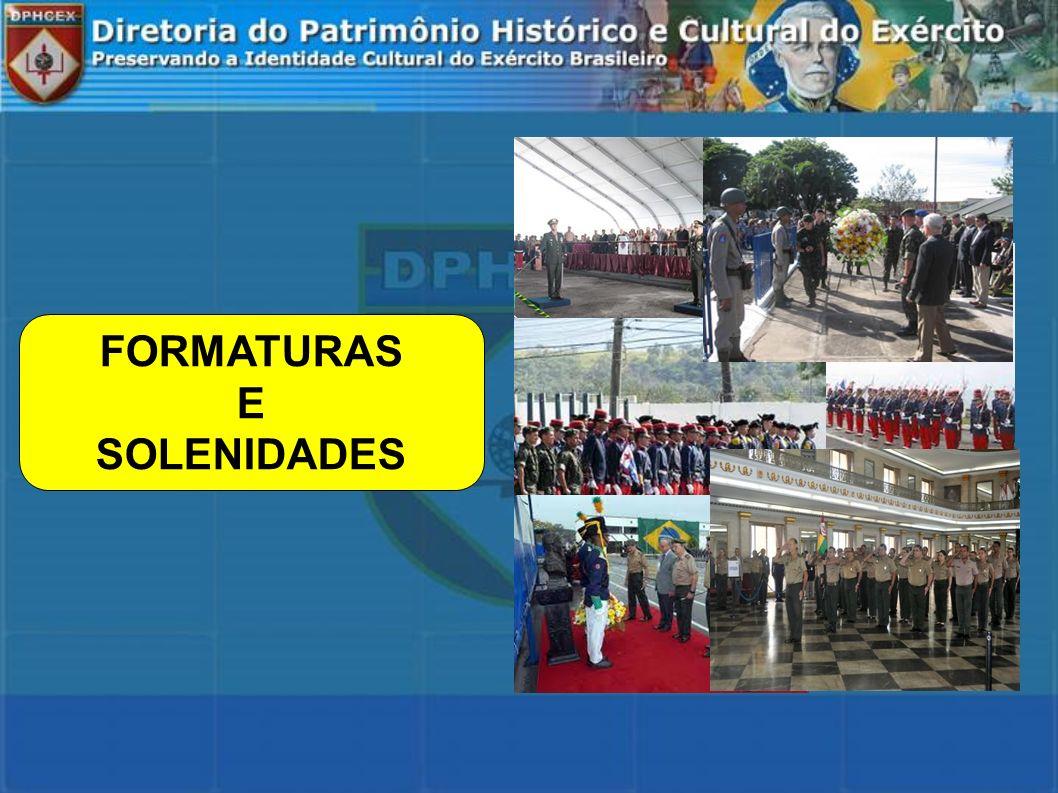 FORMATURAS E SOLENIDADES
