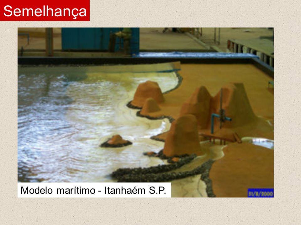 Modelo marítimo - Itanhaém S.P.