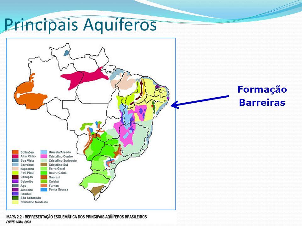 O Aquífero Guarani O Aquífero Guarani é a maior reserva subterrânea de água doce do mundo, sendo também um dos maiores em todas as categorias Volume de aproximadamente 55 mil km³ e profundidade máxima por volta de 1.800 m, com uma capacidade de recarregamento de aproximadamente 166 km³ ao ano por precipitação É dito que esta vasta reserva subterrânea pode fornecer água potável ao mundo por duzentos anos