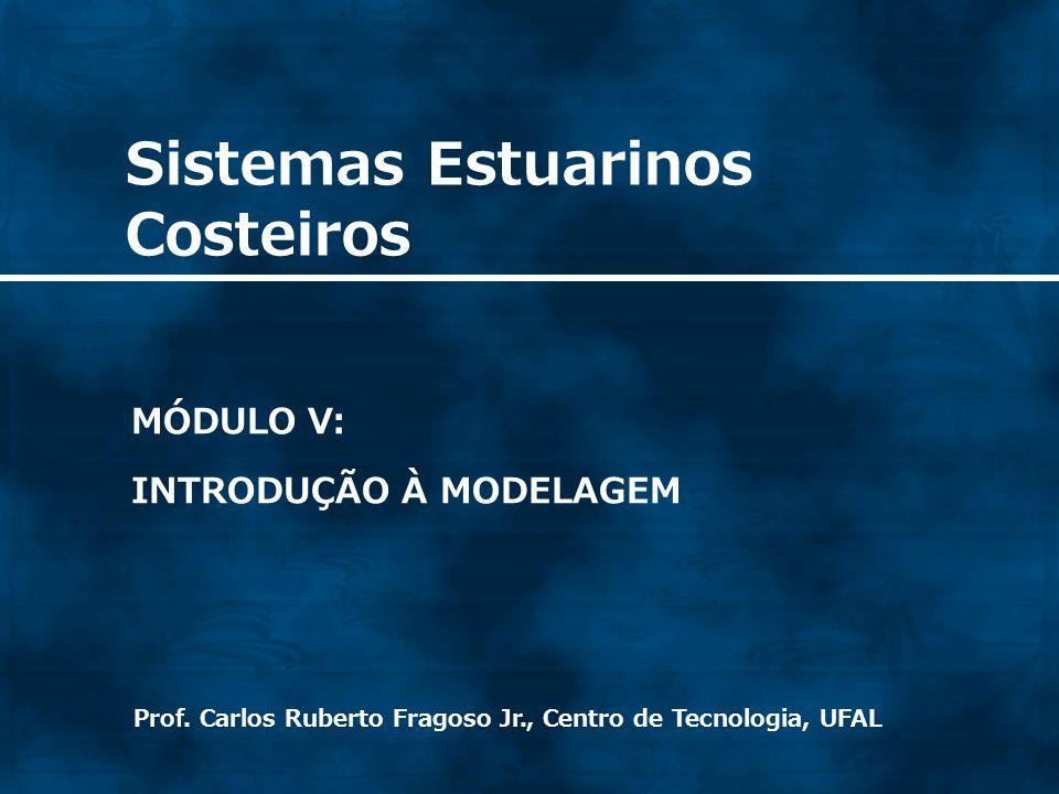 Sistemas Estuarinos Costeiros Prof. Carlos Ruberto Fragoso Jr., Centro de Tecnologia, UFAL MÓDULO V: INTRODUÇÃO À MODELAGEM