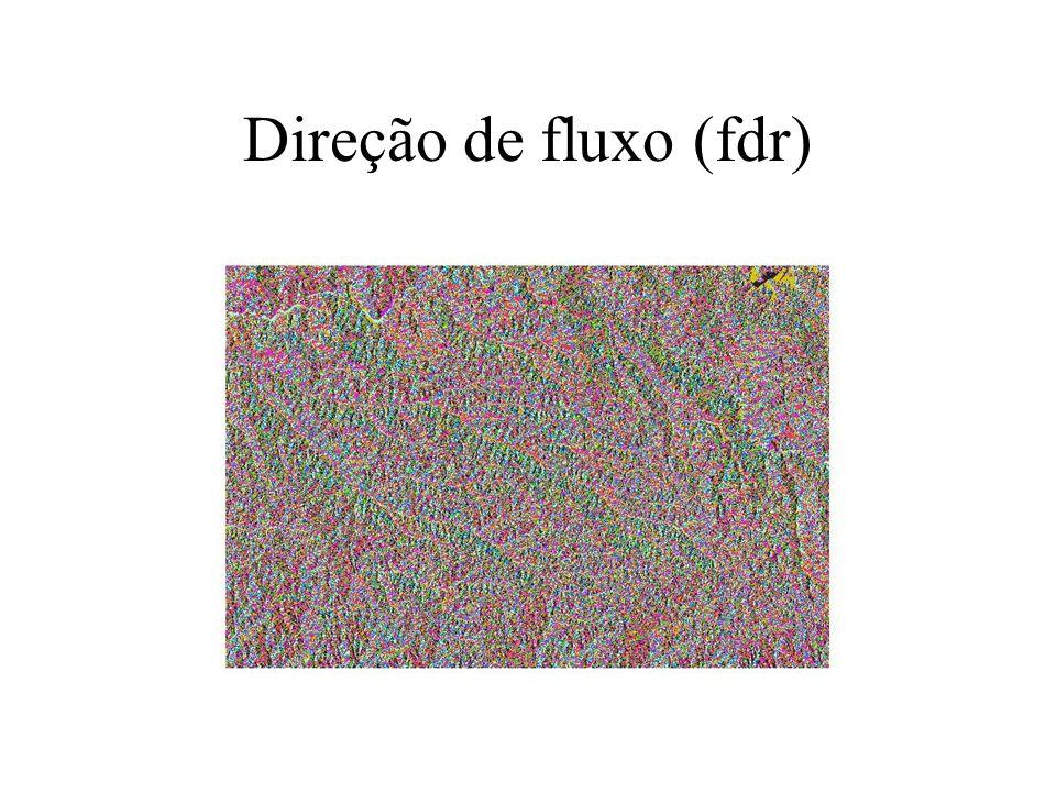 Direção de fluxo (fdr)
