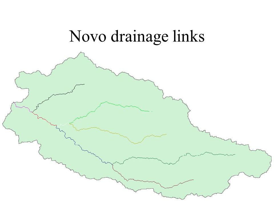 Novo catchments raster
